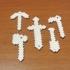 MineCraft Tool Keychains image
