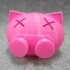 Funny piggy bank image