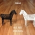 Simple Animals 8 - Zebra image