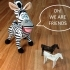 Simple Animals 8 - Zebra image