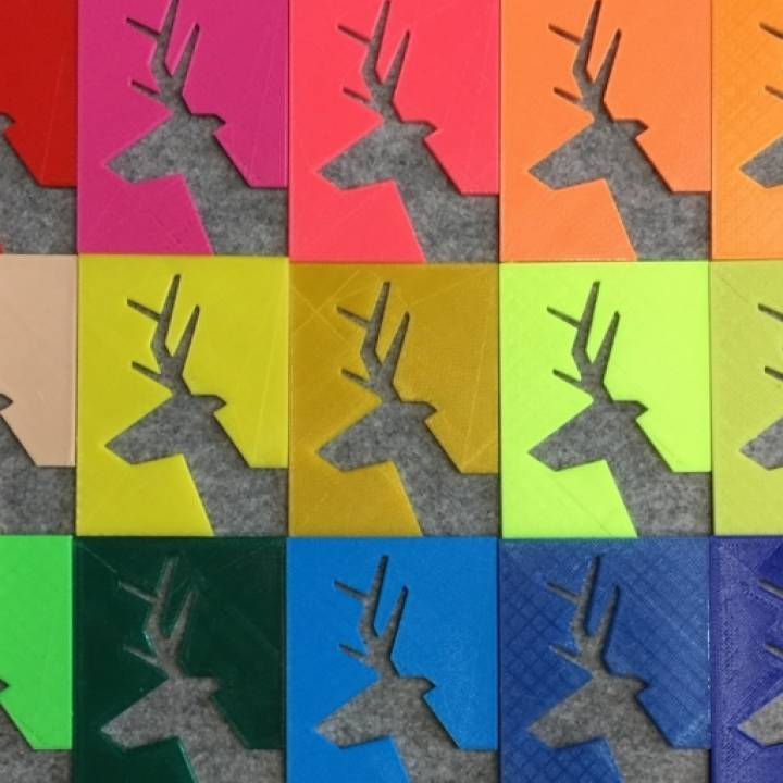 The 2D & 3D tiles of deer.