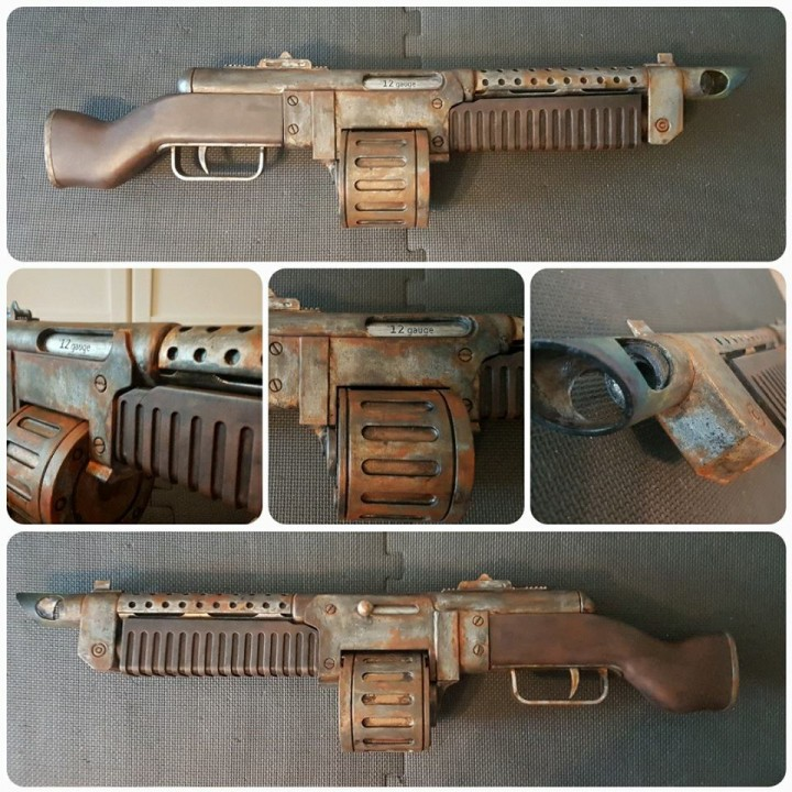 Picture of print of Fallout 4 - Combat Rifle and Combat Shotgun This print has been uploaded by Ulrik Hedin