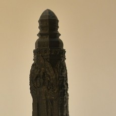 Picture of print of Buddhist Monument at The Guimet Museum, Paris