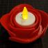 White Rose Tealight Candleholder print image