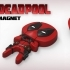 "Deadpool ""Feel The Love"" Magnet image"