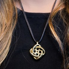 Picture of print of Interlocking Celtic Necklace Pendant This print has been uploaded by Black Beard Projects