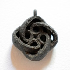 Picture of print of Interlocking Celtic Necklace Pendant