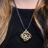 Interlocking Celtic Necklace Pendant print image