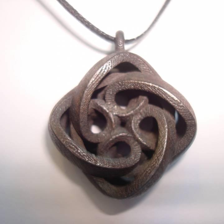 Interlocking Celtic Necklace Pendant