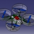 DUCTED FUN Parrot airborne mini drone print image