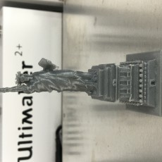 Picture of print of Statue of Liberty maquette