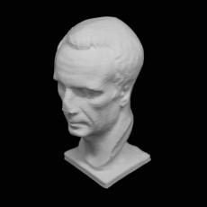 Bust of a Roman of the Republic at The Ny Carlsberg Glyptotek, Copenhagen
