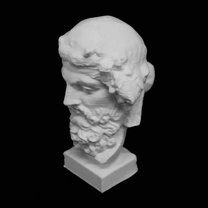 Head of Dionysos at The Ny Carlsberg Glyptotek, Copenhagen