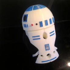 Picture of print of PARROT - R2D2