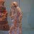 Figure of an elderly woman at The British Museum, London image
