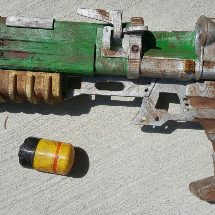 Picture of print of Fallout 4 - Laser Pistol This print has been uploaded by Stoney Enix