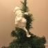 Santa Tree Hugger Ornament Christmas Decoration image