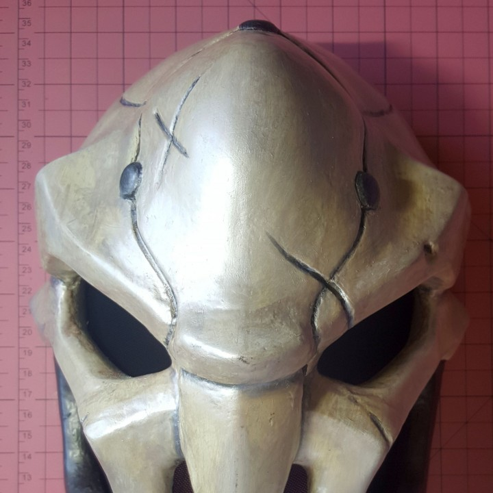 Picture of print of OverWatch's Reaper Mask! This print has been uploaded by Karl Mohring