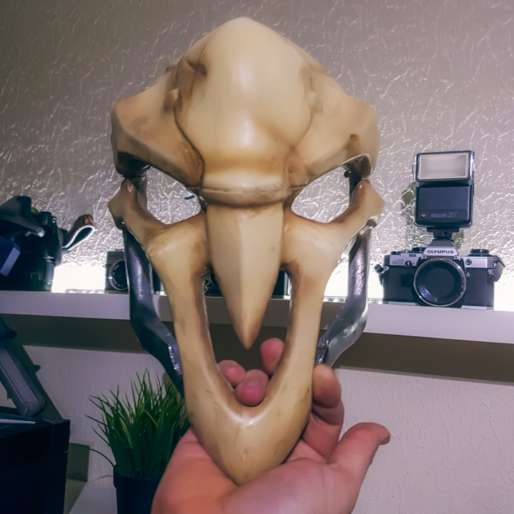 Picture of print of OverWatch's Reaper Mask! This print has been uploaded by Johan Fors