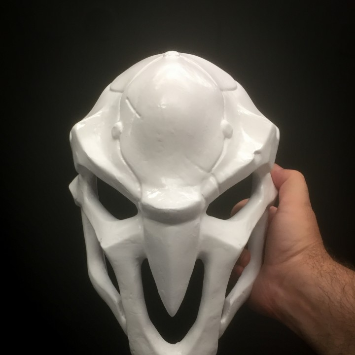 Picture of print of OverWatch's Reaper Mask! This print has been uploaded by Derek Quenneville