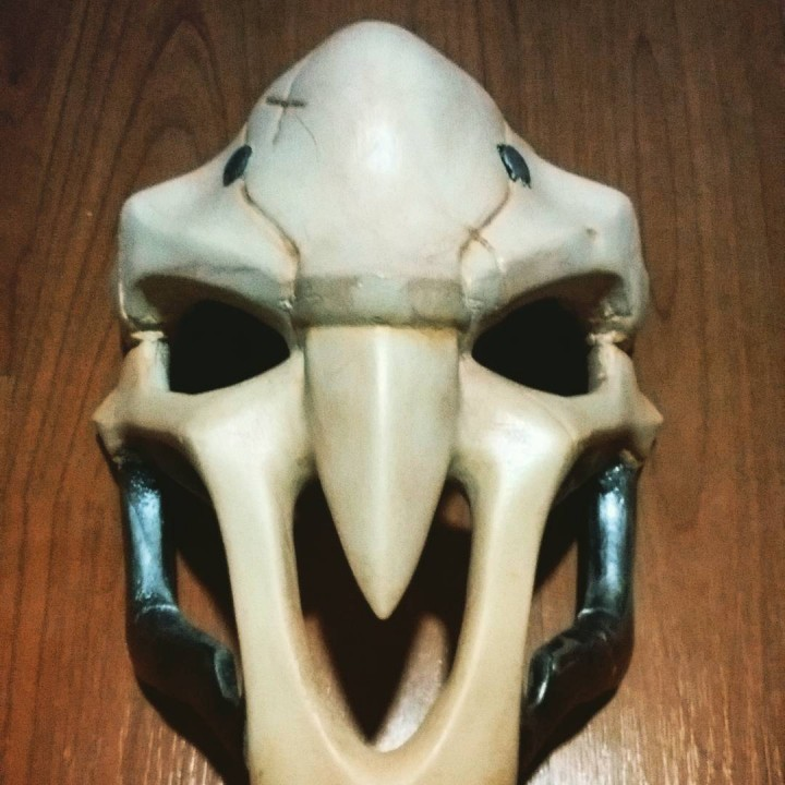 Picture of print of OverWatch's Reaper Mask! This print has been uploaded by Alejandro Espinosa