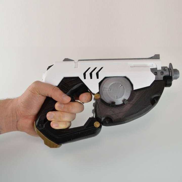 3D Printable Tracer Gun - Overwatch by Simone Fontana