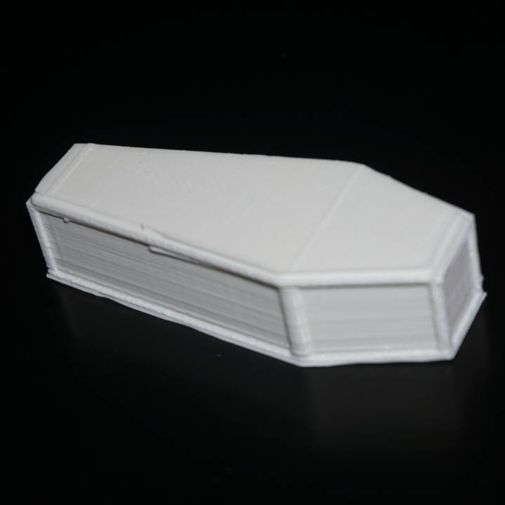 Simple coffin