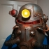 Fallout 3 - T51-b Power Armour Helmet print image