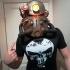 Fallout 3 - T51-b Power Armour Helmet print image