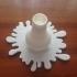 Light Bulb Splat Vase image