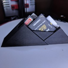Picture of print of SD Card Mountain