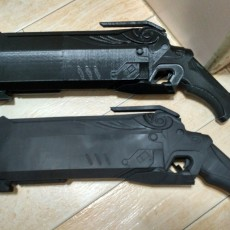 Picture of print of Reaper's Hellfire Shotguns - Overwatch This print has been uploaded by Sim Jia Jun