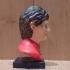Bust of Ayrton Senna print image