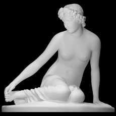 The Nymph Salmacis at The Louvre, Paris