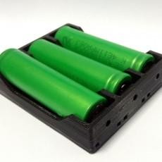 18650 battery holder (3x)