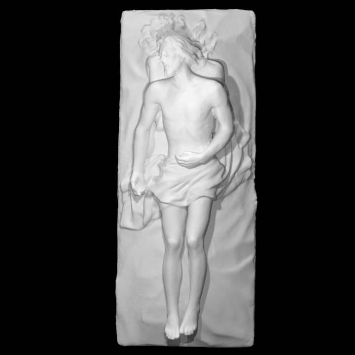 Cristo Yacente, Victor de los Rios, 1952