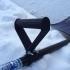 Side handle for snow shovel image