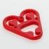 Heart shaped pendant image