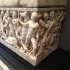 Sarcophagus (without lid) at The Getty Villa, Los Angeles image