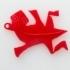 M.C. Escher Lizard Pendant image