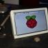 "7"" Multimedia desktop station with integrated USB hub (1920x1080 Touchscreen + Raspberry Pi B+/2) image"