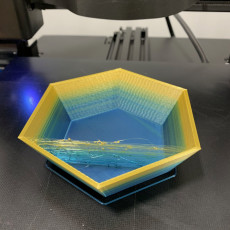 Picture of print of Quick hex bowl