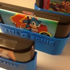 SEGA Sonic cartridge sleeves