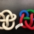 3D-printed Conformations of Knots through 7 Crossings image