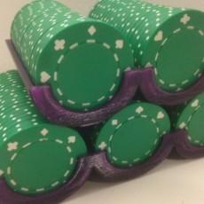 Customizable Poker Chip Rack
