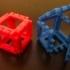 Customizable Hinge/Snap Cube Net image