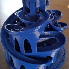 Picture of print of The 3D Printed MArble Machine #3