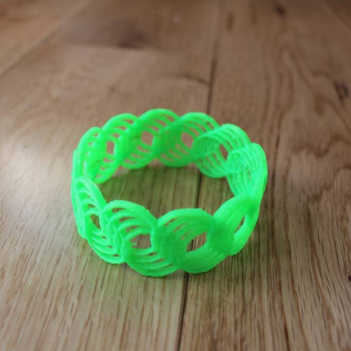Ring of Rings Bangle