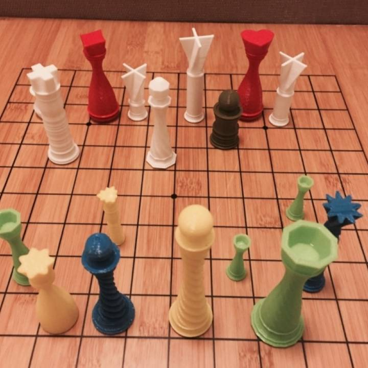 3d Printer For Sale >> 3D Printable PieceMaker - Build your own board game pieces by mathgrrl