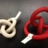 Tritangentless Conformation of Knot 3_1 image